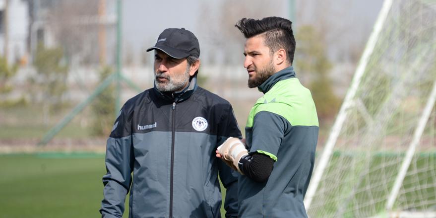 Konyaspor'da Ömer Ali Şahiner şoku!