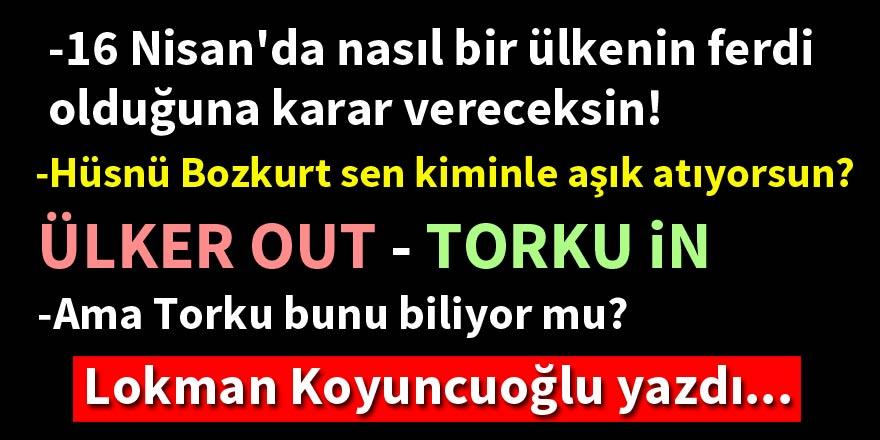 """""""Bu bir """"evet"""" çağrısı değildir!"""" Lokman Koyuncuoğlu yazdı..."""
