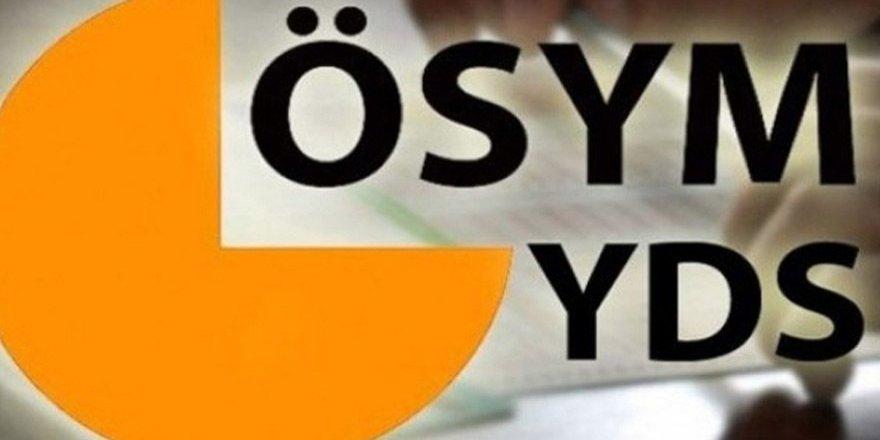 YDS sınav sonuçları açıklandı!