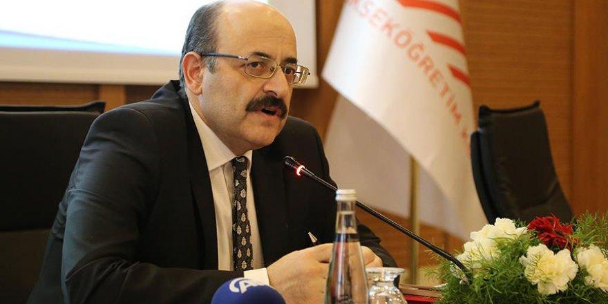 YÖK Başkanı Saraç'tan doçentlik başvurularına ilişkin açıklama