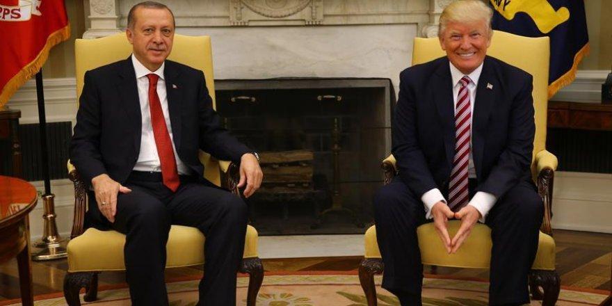 Erdoğan-Trump görüşmesi sona erdi!