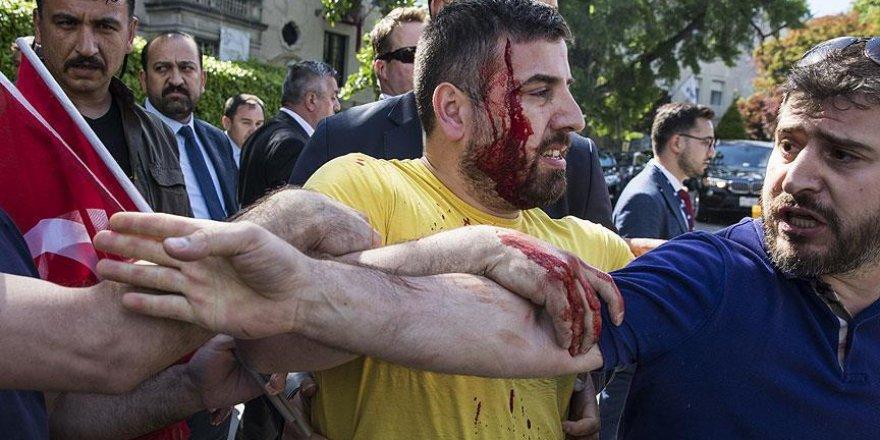 Türkiye'nin Washington Büyükelçiliğinden 'izinsiz gösteri' açıklaması