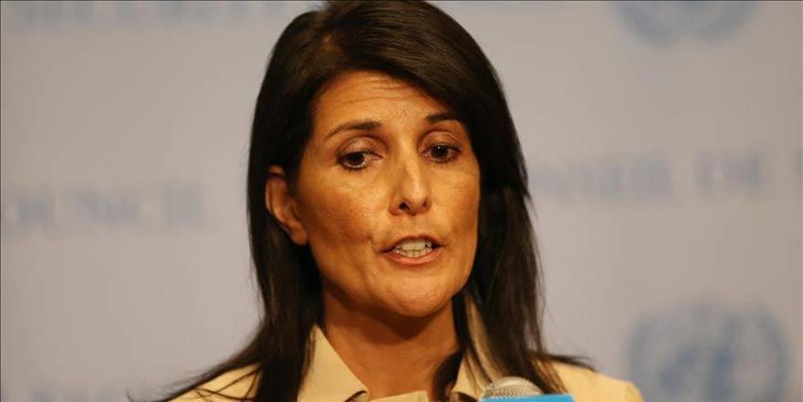 ABD'nin BM Büyükelçisinden 'Kudüs başkent olmalı' çıkışı