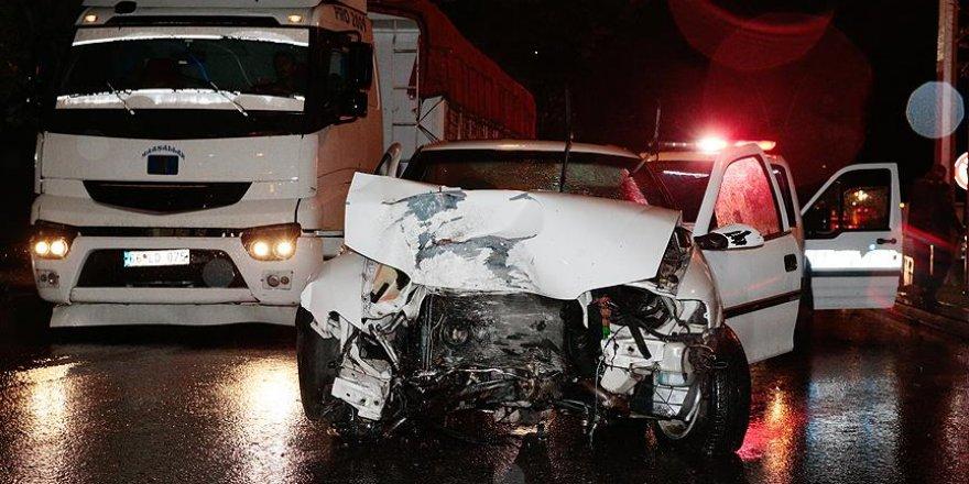 Trafik kazası geçiren milli sporcu ölümden döndü