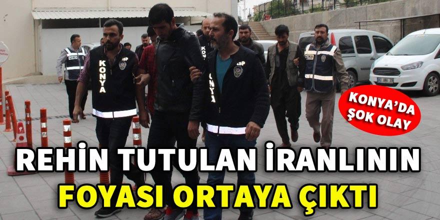 Rehin tutulan İranlı işadamının foyası kurtarılınca ortaya çıktı!