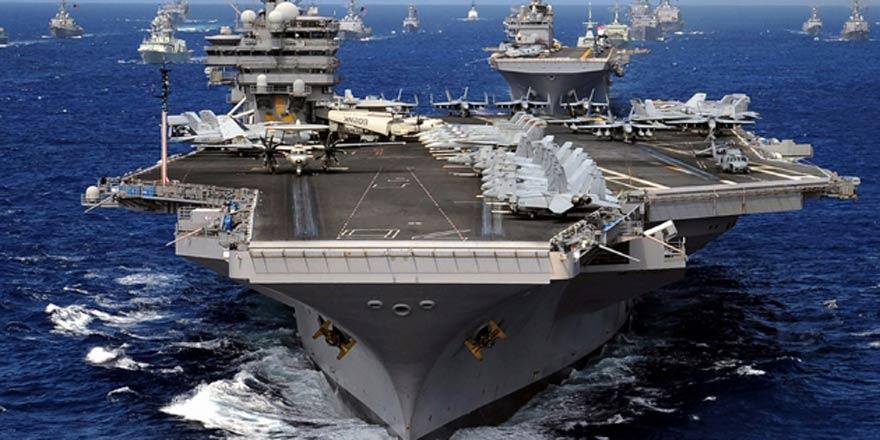 ABD, bir uçak gemisini daha Kuzey Kore'ye gönderiyor