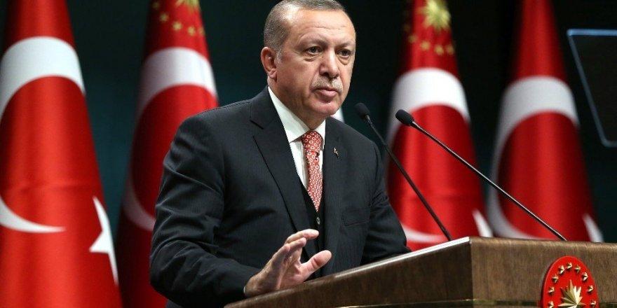 """Cumhurbaşkanı Erdoğan: (Dershanelerin kapatılması) """"Darbe girişimine bundan dolayı girdiler"""""""