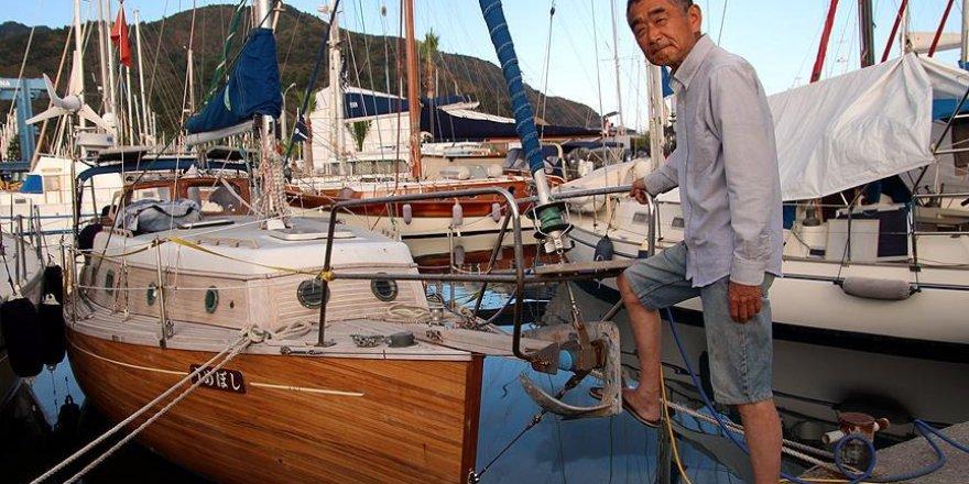 Japon Kiyoshi 'Ertuğrul'un izinden Marmaris'e geldi