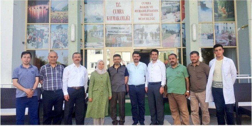 Milletvekili Hüsnüye Erdoğan'dan ziyaret
