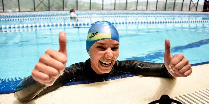 Milli sporcu Çingigiray'dan dünya rekoru