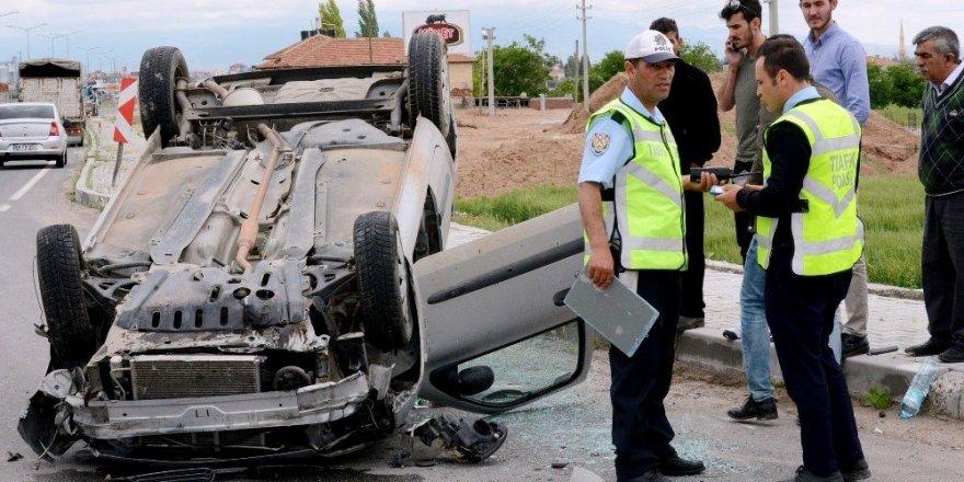 Konya - Aksaray yolunda trafik kazası