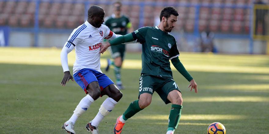 Atiker Konyaspor 3-0 KDÇ Karabükspor