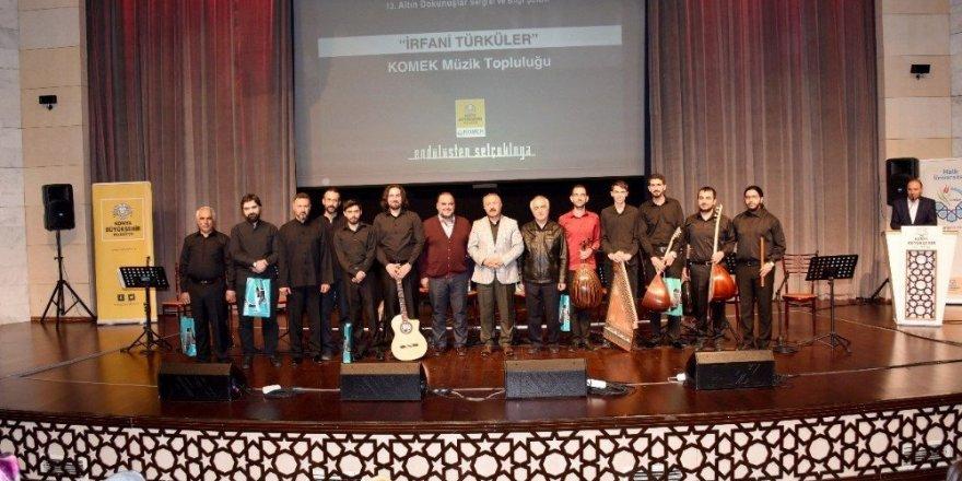 """KOMEK Müzik Topluluğu'ndan """"İrfani Türküler"""" konseri"""