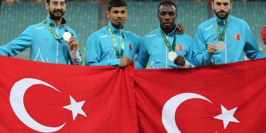 Bakü'de atletizmden 21 madalya