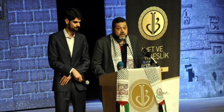 Hamas Dış İlişkiler sorumlusu Hamdan Diyarbakır'da