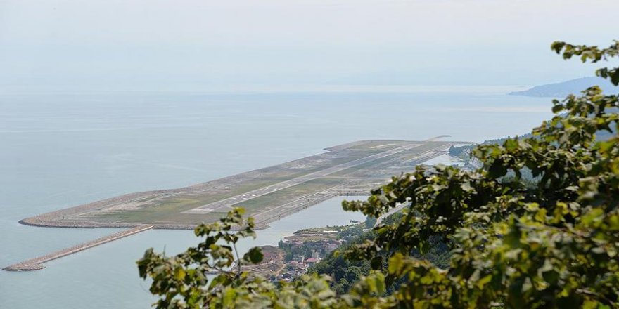 Ordu-Giresun Havalimanı hizmette ikinci yılını tamamladı