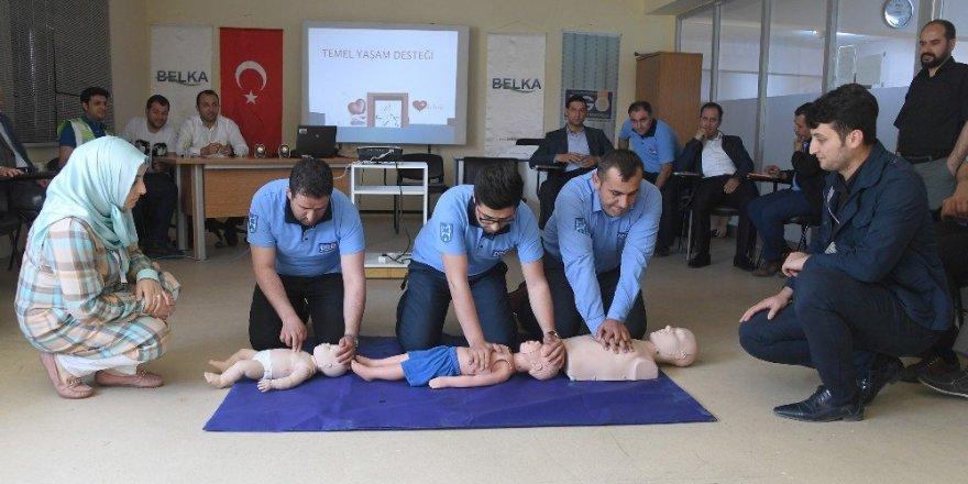 EGO şoförlerine ilk yardım eğitimi