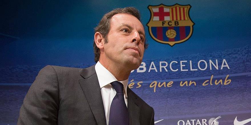 Eski Barcelona Başkanı'na 'kara para' gözaltısı