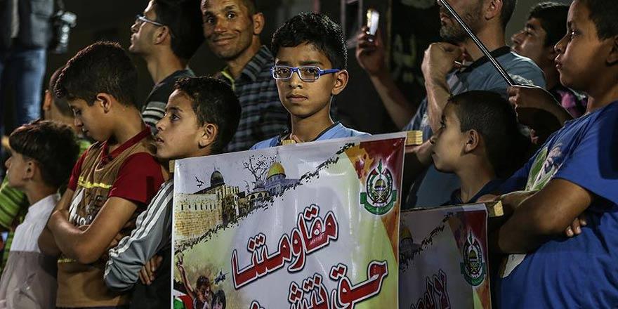 Gazze'de Trump'a 'Hamas' tepkisi