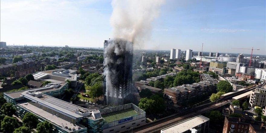 Londra'daki yangın faciası! Yeni bilanço açıklandı