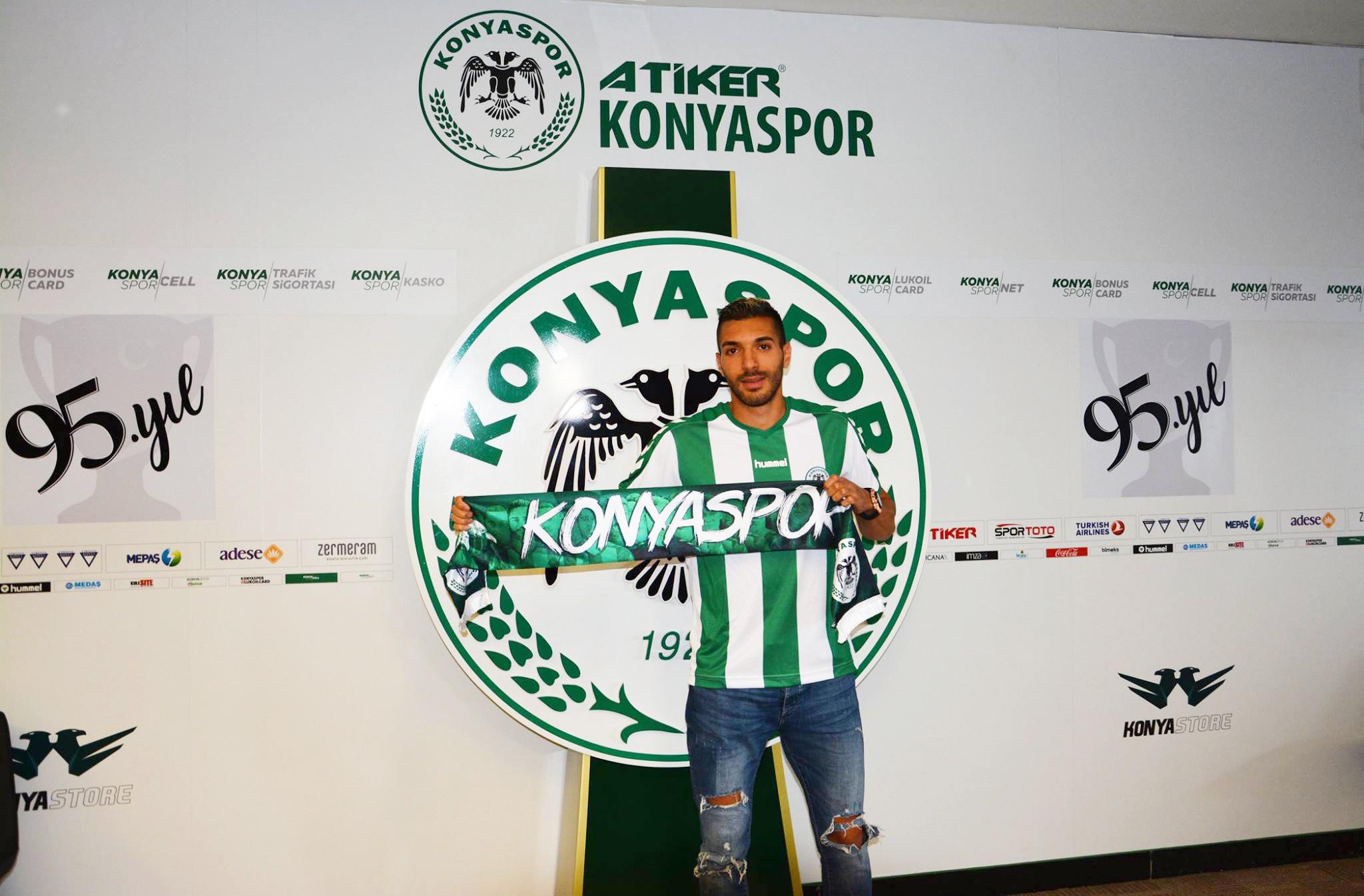 Konyaspor'un yeni transferi Mehdi Bourabia'dan ilk açıklama