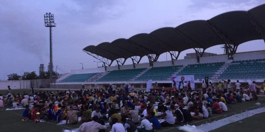 TİKA'dan Yemen'de bin kişilik iftar