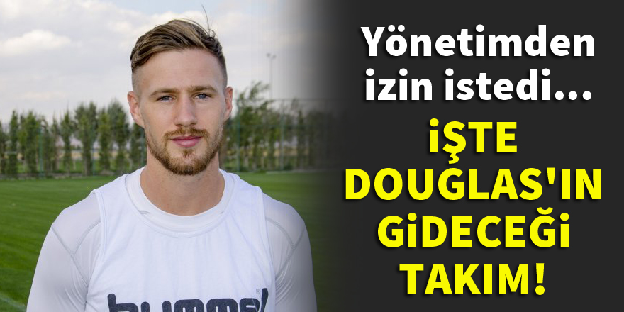 Douglas izin istedi, Konyaspor'dan ayrılıyor!