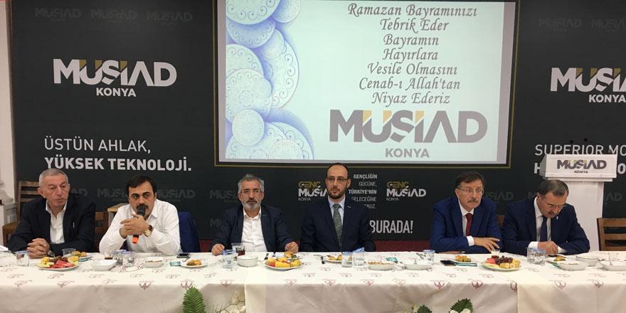 MÜSİAD Konya Şubesi'nde bayramlaşma programı