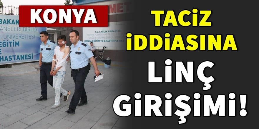 Konya'da 11 yaşındaki çocuğu taciz eden şüpheli linç edildi