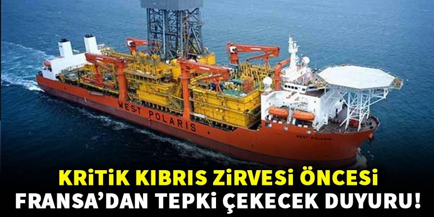 Kritik Kıbrıs zirvesi öncesi tepki çekecek duyuru!