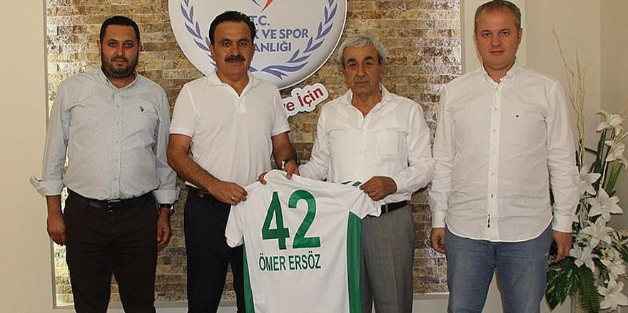 Anadolu, Ersöz'den destek istedi