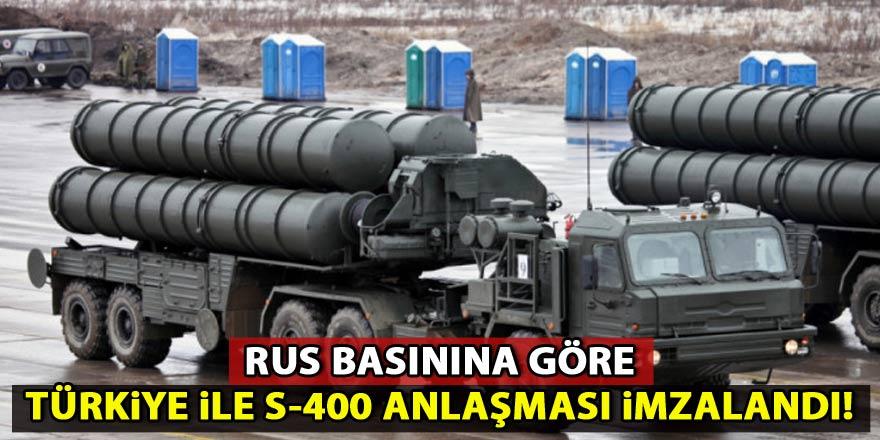 Rus basını: Türkiye ile S-400 anlaşması imzalandı!