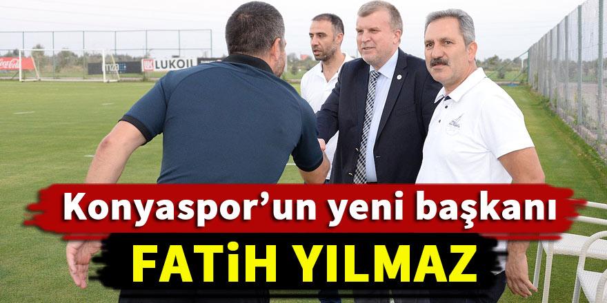Konyaspor başkanlığına Fatih Yılmaz getirildi