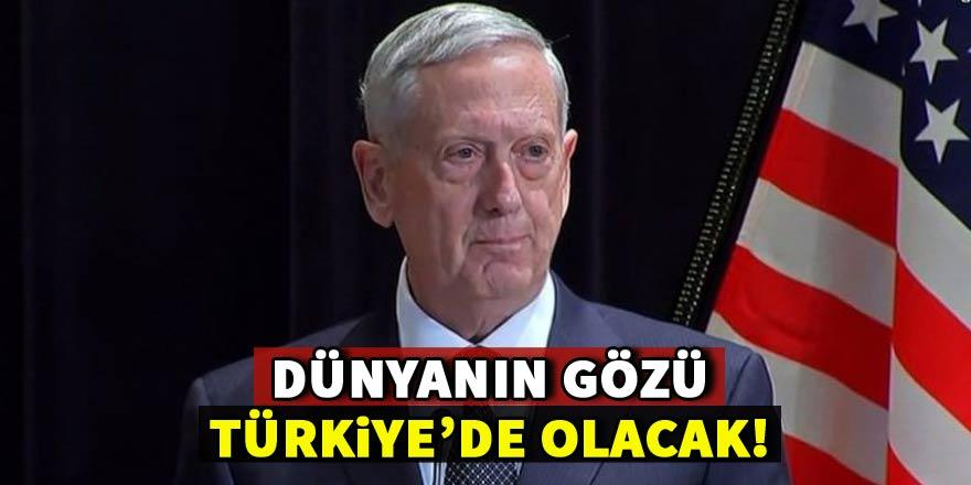 Bugün dünyanın gözü Ankara'da olacak