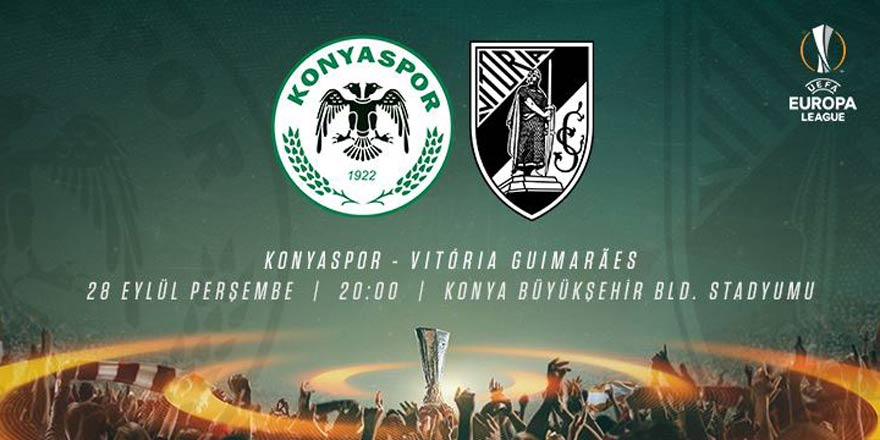 Atiker Konyaspor - Vitoria Guimaraes | İLK 11'LER