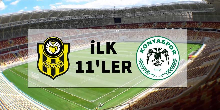 Yeni Malatyaspor - Konyaspor | İlk 11'ler