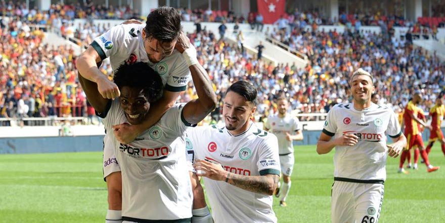 Konyaspor'un deplasmanda ilk puanı