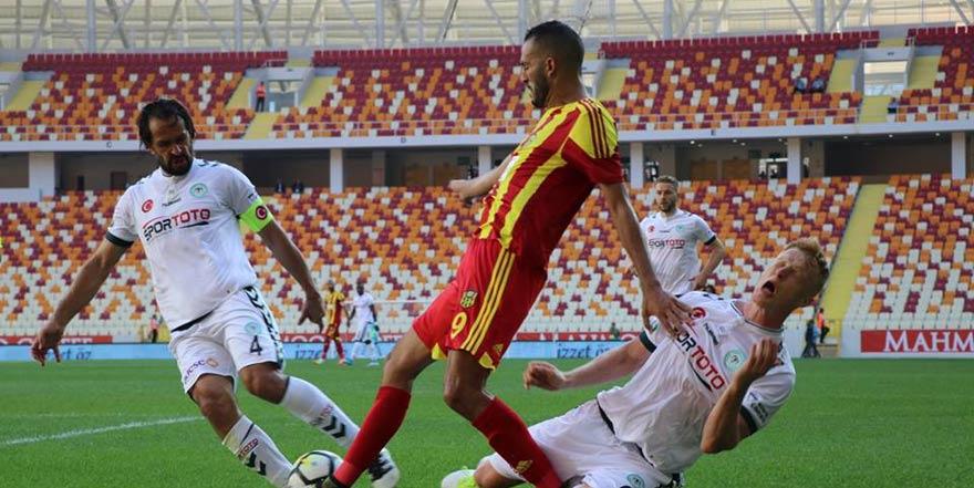 Konyaspor'da Ali Turan ve Ferhat Öztorun Galatasaray'a karşı yok