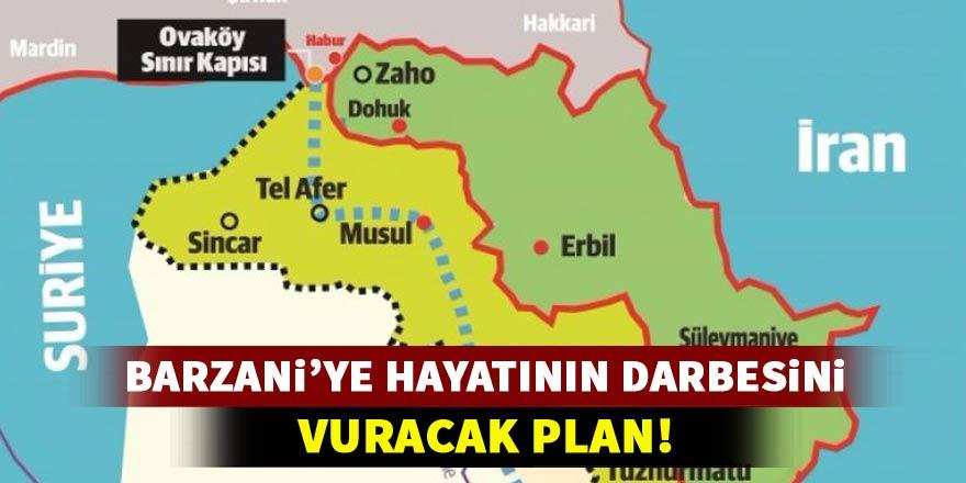 Barzani'ye en büyük darbeyi vuracak