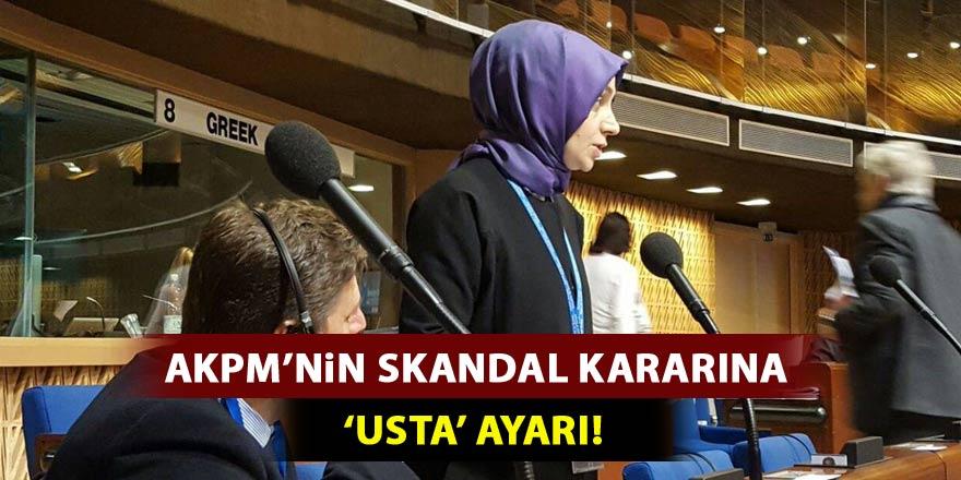 AKPM'nin skandal kararına 'Usta' ayarı!