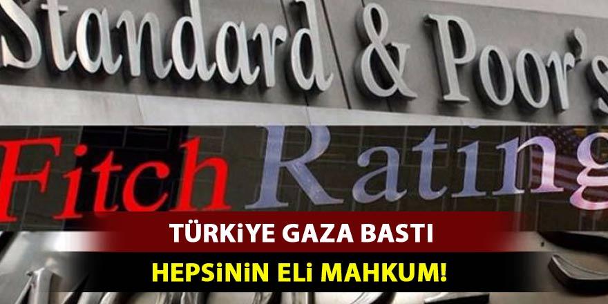 Türkiye gaza bastı! Şimdi hepsinin eli mahkum