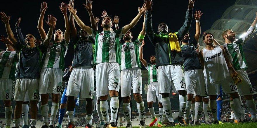 Konyaspor Avrupa kupalarında 9. sınavında