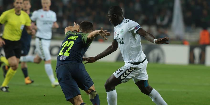 Konyaspor 0 - 2 Salzburg   Maç sonucu