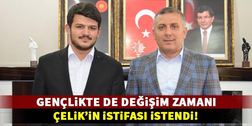 Ak Parti Konya Gençlik Kolları Başkanı'nın istifası istendi!