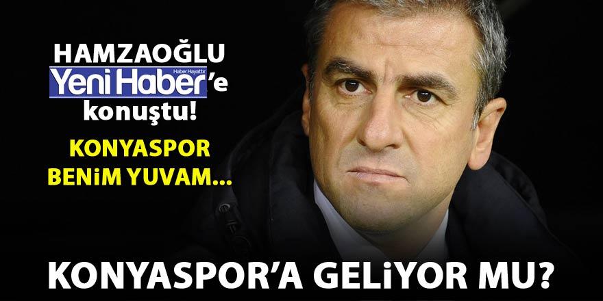 Hamzaoğlu'ndan Yeni Haber'e flaş açıklamalar! Konyaspor'a geliyor mu?