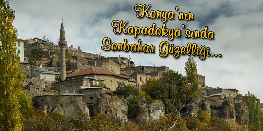 Konyanın Kapadokyasında sonbahar güzelliği 22