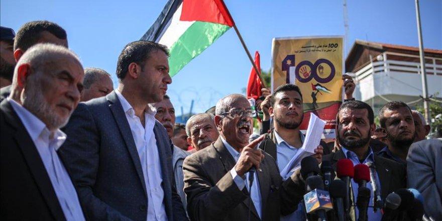 Palestinians decry 100-year-old Balfour Declaration