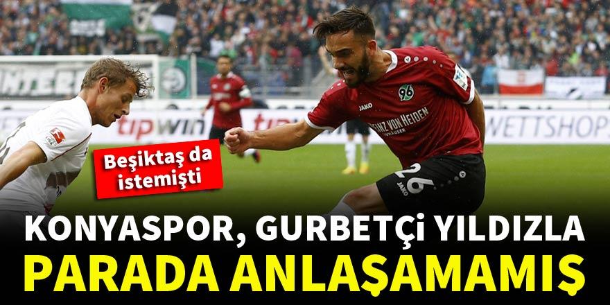 Konyaspor, gurbetçi yıldız Kenan Karaman'la parada anlaşamamış