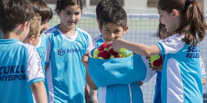 Selçuklu'da Kış Spor Okulları büyük ilgi görüyor