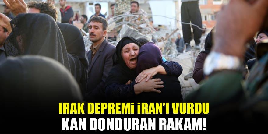Irak depremi İran'ı vurdu! Kan donduran rakam